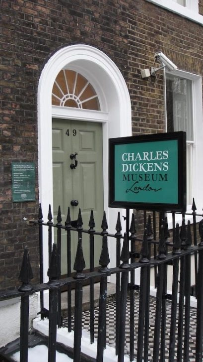 Charles Dickens Home in London