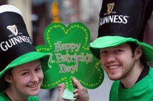 Celebrating St Patrick's Day in Liverpool