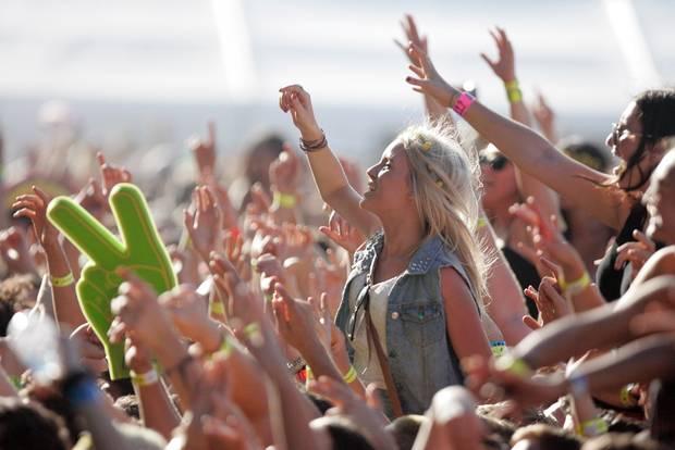 Students at festivals