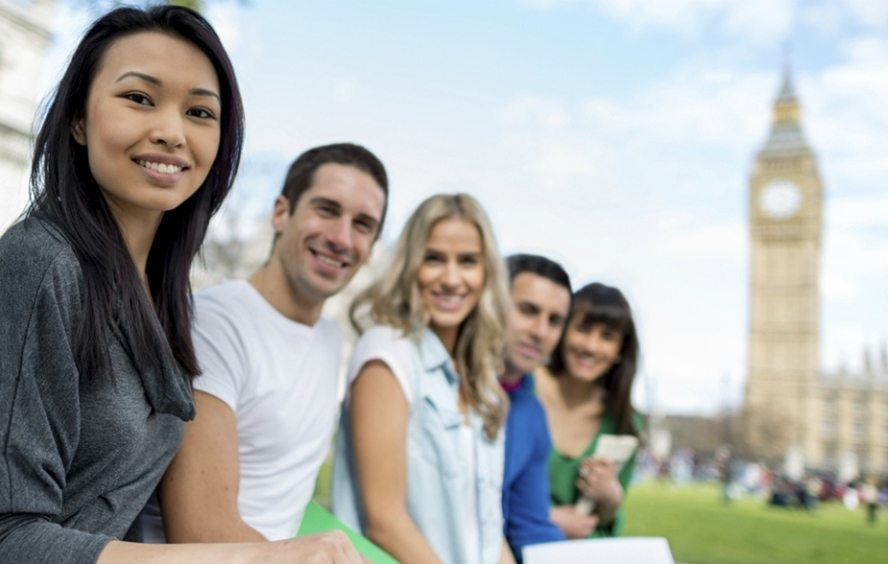 International students preparing for life in the UK