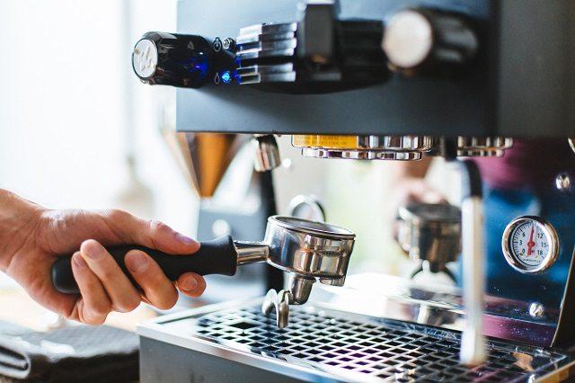 Coffee Making in Coffee Shop