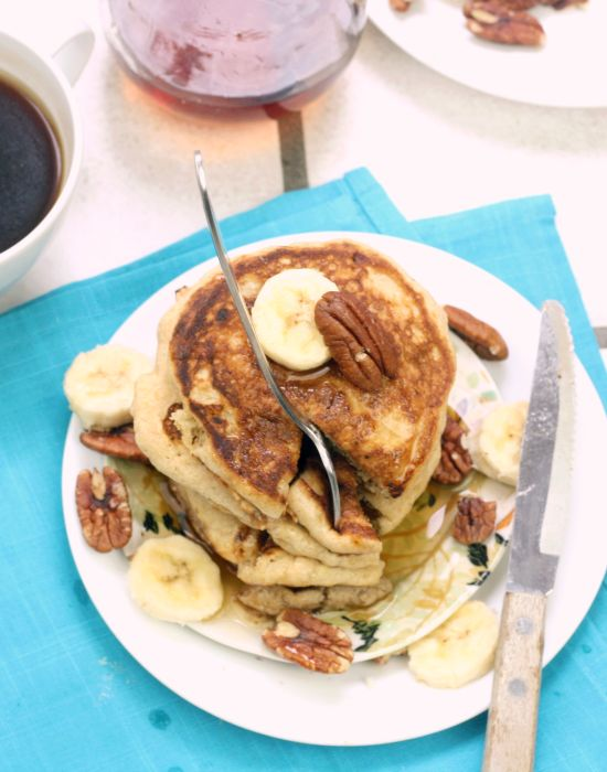 Yummy pancakes stack