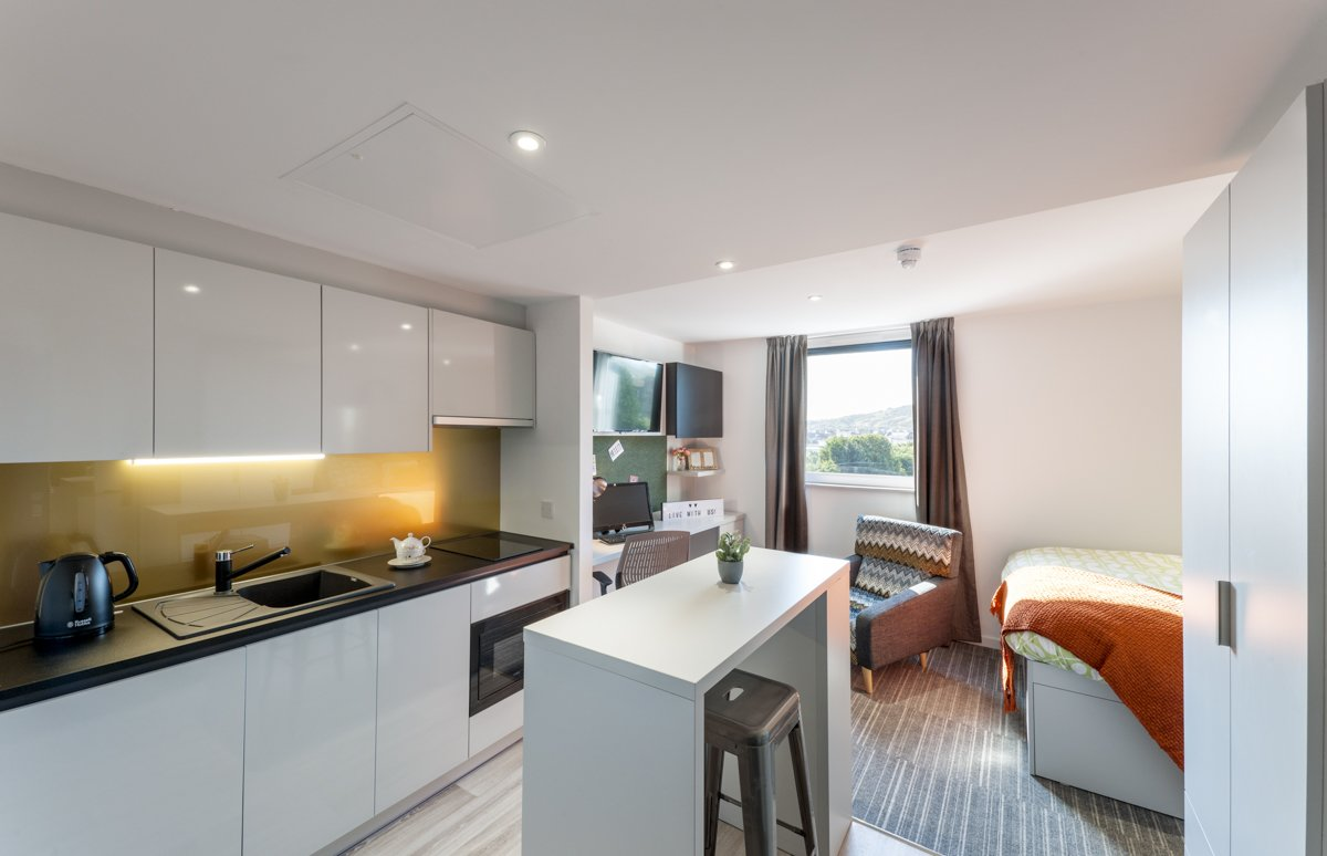 New Park Studio Apartment Gold Plus