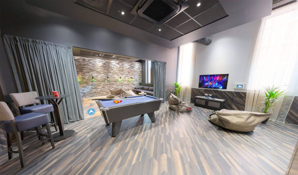 Games and Social Space in London Accommodation