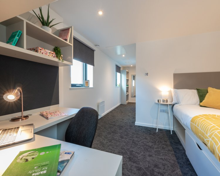Indicative deluxe ensuite room
