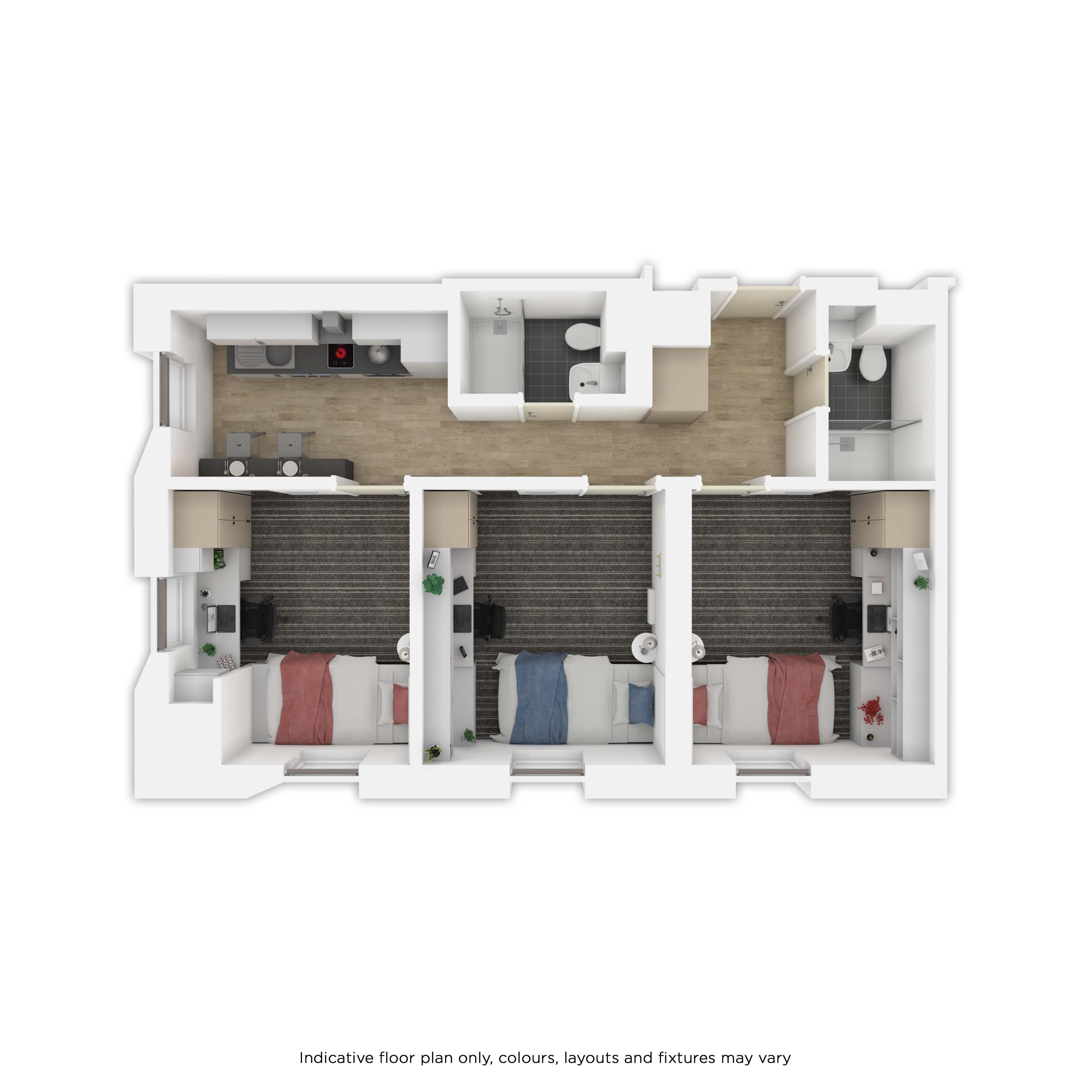 3dio Floor plan